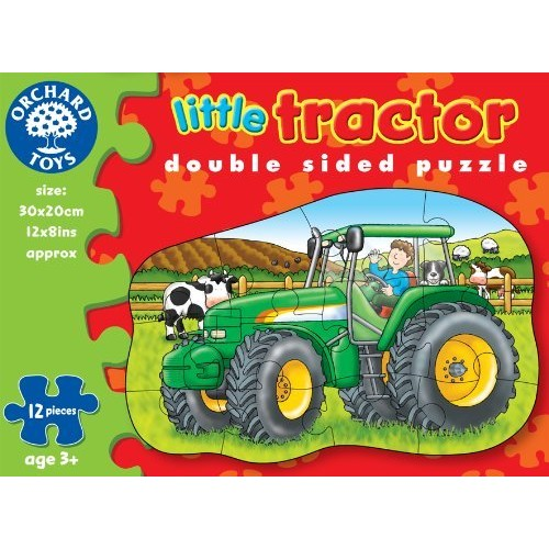 Toy - Orchard Toys - Little Tractor-  Puzzle