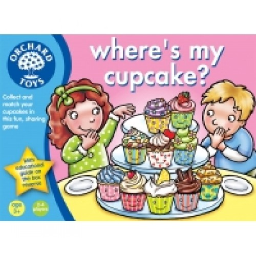 Toy - Orchard Toys - Where is my Cupcake - game - 3x left
