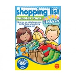 Toy - Shopping List Booster Pack - Clothes