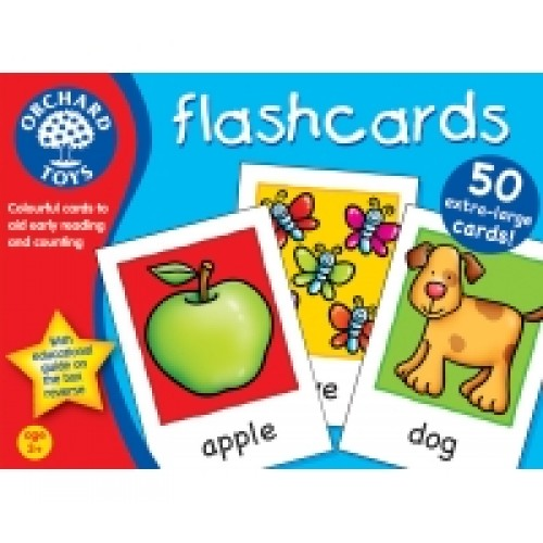 Toy - Orchard Toys -  Flashcards - game