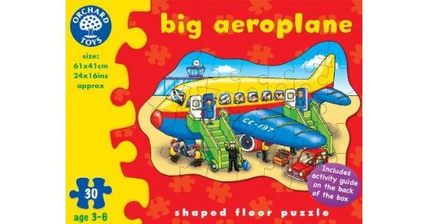 Toy Orchard Toys Big Aeroplane Puzzle