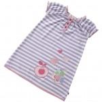Piccalilly - Dress - Violet Stripe in SALE -  3-4, 5-6