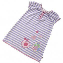 Piccalilly - Dress - Violet Stripe in SALE -  3-4, 5-6
