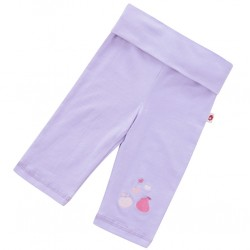 Leggings - Piccalilly - Yoga Cropped Leggings - Violet in SALE 6-12, 12-18, 18-24, 3-4y