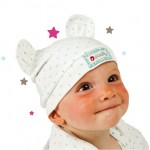 Piccalilly - Hat - Little Star Hat with Ears in Wild Rose