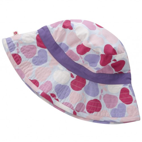Piccalilly - Girls Betsy  Sun Hat - red fruit - 4-5