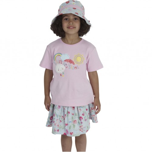 Piccalilly - Top - T-Shirt - Come Rain or Shine in SALE 6-12m