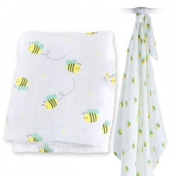 Muslin/Swaddle - Bumbling Bee