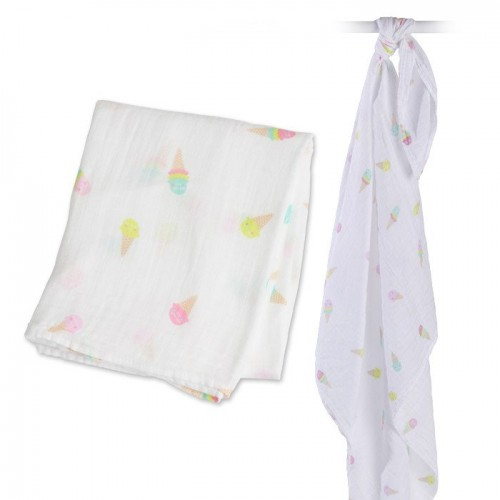 Muslin/Swaddle - Icecream Social
