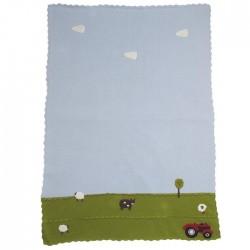Blanket - FARMYARD COT BLANKET