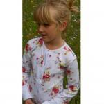 PJ - Onesie - Floral  in SALE 4-5y