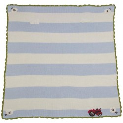 Blanket - FARMYARD PRAM BLANKET  (75 x 107 cm)