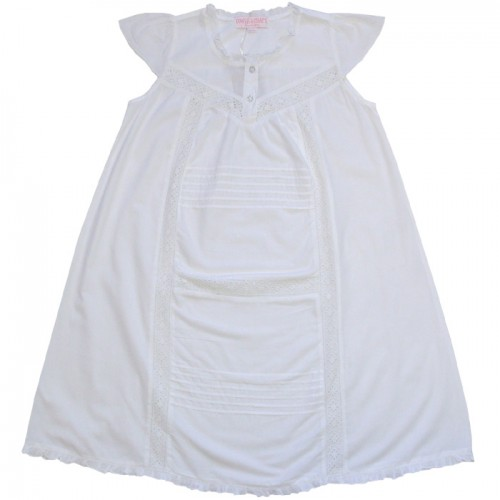 PJ - Night dress - Harmony White 2-3y, last one
