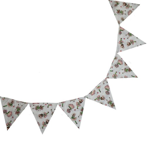 Bunting - Garden Fairy -3 m - sale (matching night dress)