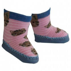Shoe - Moccasins - Cat -  0-6, 6-12, 12-18m  (matching leggings also available )