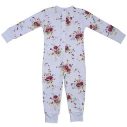 PJ - Onesie - Floral  in SALE 4-5y