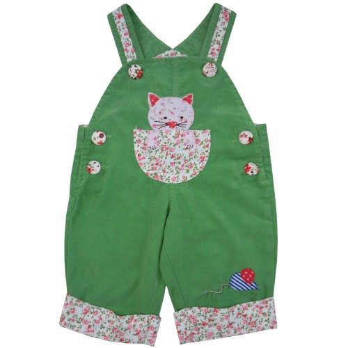 Dungarees - Cat -  4-5y - sale