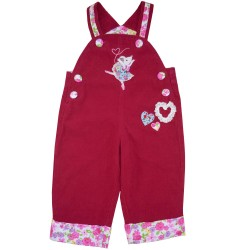 Dungarees - Cord Mouse - 12-18m, 18-24m  - sale