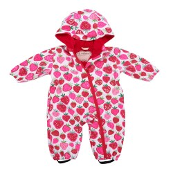 Bundler - Hatley Baby Strawberry Waterproof Pramsuit 12-18, 2-3y - sale