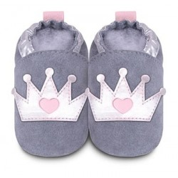 Shoo Shoos -  - Grey/Silver Crown - SALE - 12-18m