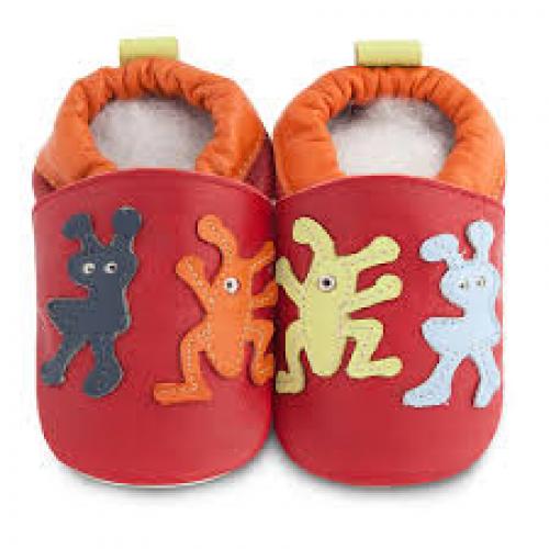 Shoo shoes - Fun monsters  SALE - 0-6m