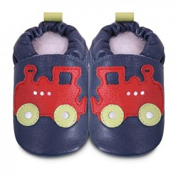 Shoes - Clearances - Navy red train - SALE - 18-24m last one