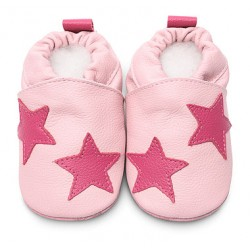 Shoes - Clearance  - Pink Stars - SALE - 18-24m last one
