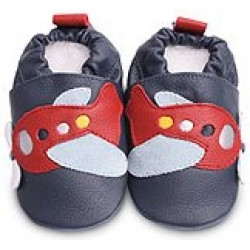 Shoes - Clearance - Navy Red Airplane  - SALE - 18-24m last one