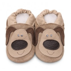 Shoes - Clearance  - Blue  and white Dog - 0-6m last one