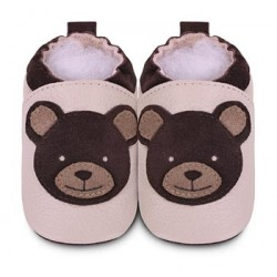 Shoes - Clearance- Teddy bear - SALE- 0-6, 18-24m