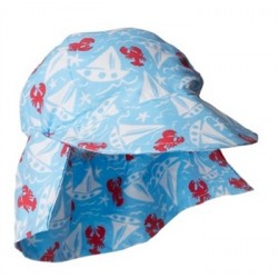 Hat - Flap Hat - Somersault Sails - small 0-6m, medium 6-12m,  large 12-18m, , xl 18-24m