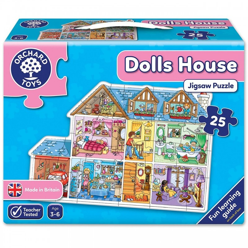 Toy Orchard Toys Dolls House Puzzle
