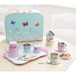 Toy - Butterfly Tin Tea set