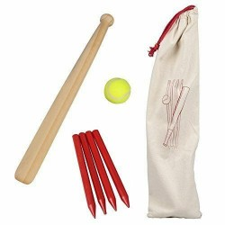 Toy - Wooden Rounders Set - Outdoor Game Garden Toys Family Fun - Gift Ball Games  - ROUNDERS