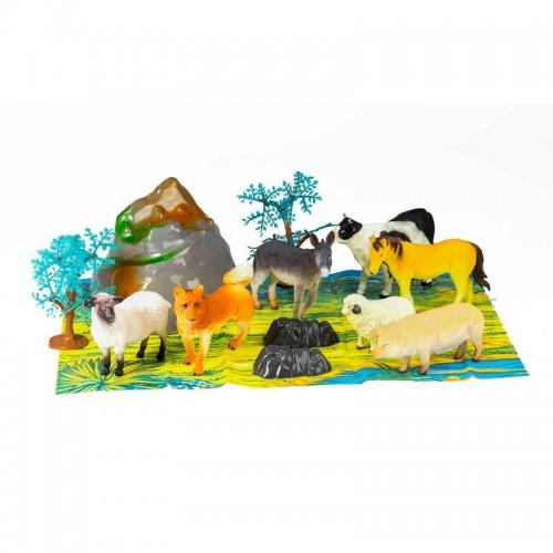 Toys - Farm Animals figures - large tub