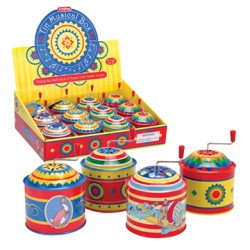 Toy - Musical Box - Tin -  one randomly selected - Sale