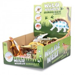 Toy - Dinosaurs Figures - WILD WORLD DINOSAUR FIGURES  - one supplied (advice in text box if preference)