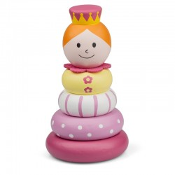 Toy - Wooden Stacker - Princess or Lion