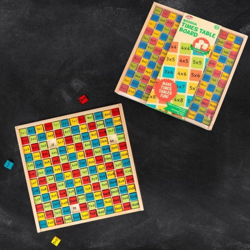 Toys - WOODEN TIMES TABLE BOARD - sale