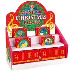 Toy - Christmas Musical Box - random choice of 1- or if preference please advice - 4 melodies - We Wish You a Merry Christmas, Jingle Bells, Silent Night, and Rudolph the Red-Nosed Reindeer.