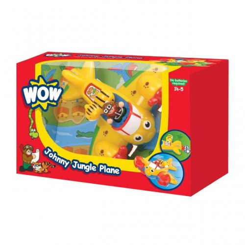 WOW Toys - Johnny Jungle Plane