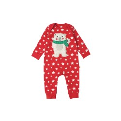 Romper - Frugi Charlie - polar bear - 0-3, 6-12m in SALE