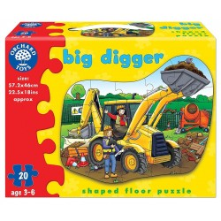 Toy - ORCHARD Toys - BIG DIGGER PUZZLE - 1 left