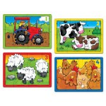 Toy - Orchard Toys - Farm Four in a Box - Puzzle