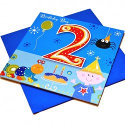 Gift - Card - Happy Birthday - 2 - Boy