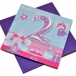 Gift - Card - Happy Birthday - 2 - Girl