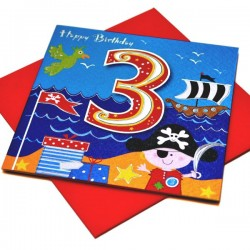 Gift - Card - Happy Birthday - 3 - Boy