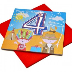 Gift - Card - Happy Birthday - 4 -  Boy