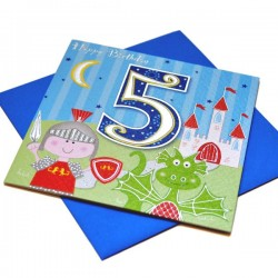 Gift - Card - Happy Birthday - 5 - Boy