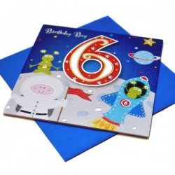 Gift - Card - Happy Birthday - 6 - Boy